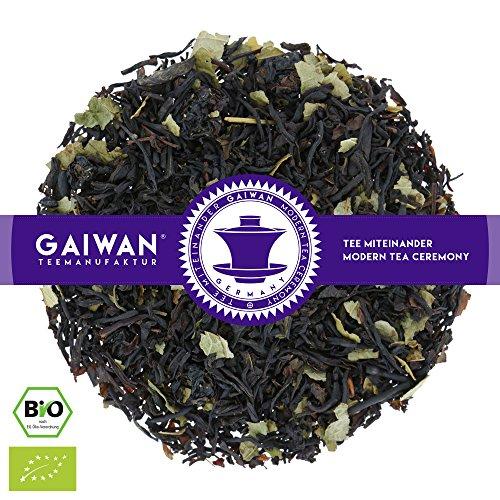 "No. 1128: Organic Loose Leaf Black Tea ""Blackcurrant"" - 100 g (3.5 oz) - GAIWAN® Germany - Black Tea from India, red Currants, red Currant"