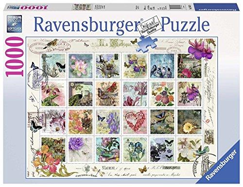 Ravensburger - Colección de estampillas, Rompecabezas de 1000 Piezas, 70 x 50 cm (196074)