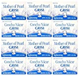 12 SOAP BARS CLEAN STIMULATE NO SPOT SKIN WITH GRISI MOTHER PEARL SOAP CONCHA NACAR by GRISI MOTHER OF PEARL CONCHA NACAR