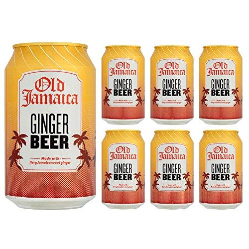 Old Jamaica - Getränk mit Ingwerbier-Geschmack (6) (Jamaica Ginger Beer)