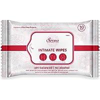 Sirona Intimate Wet Wipes - 10 Wipes