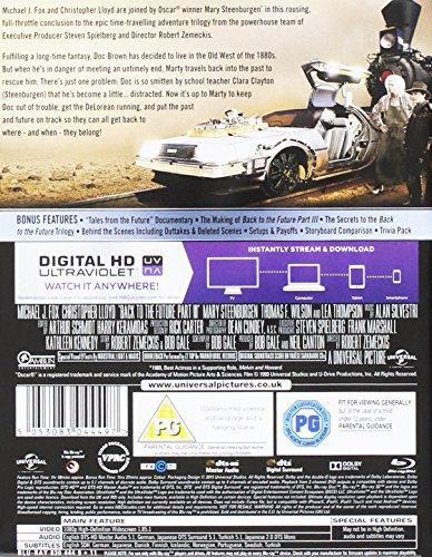Zurück in die Zukunft 3, Steelbook, Blu-ray, Back to the Future 3, Zavvi exklusiv, nur 3.000 Exemplare, Uncut, Regionfree