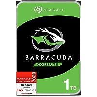 Seagate Barracuda, interne Festplatte 1 TB HDD, 3,5 Zoll, 7200 U/Min, 64 MB Cache, SATA 6 GB/s, silber, FFP, Modellnr…