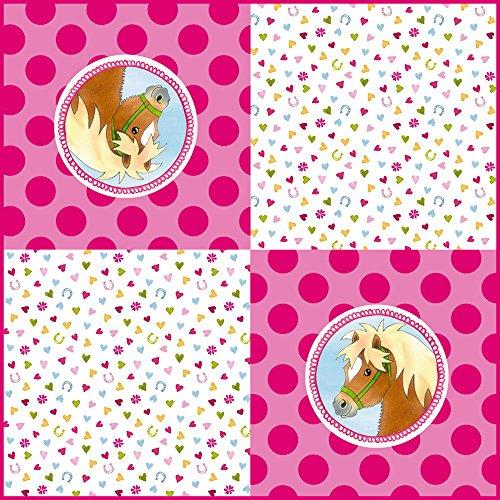 Die Spiegelburg 14116, Festa, compleanno - Tovaglioli monouso - motivo: 'Mio mini pony' - 20 pz