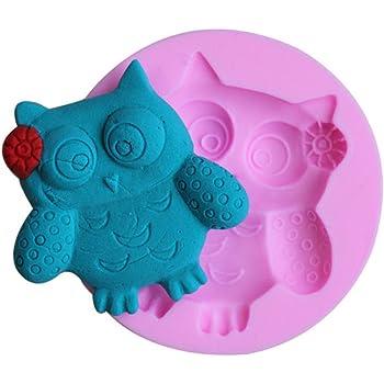 Qinlee 3d Diy Eule Form Zucker Fondant Kuchen Form Scherblock