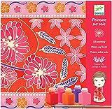 Djeco - Kreativ Set Seidenmalerei Japanese inkl. Seidenschal und Farben