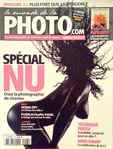 LE MONDE DE LA PHOTO.COM [N° 5 ] MAI 2008 / SPECIAL NU par Collectif