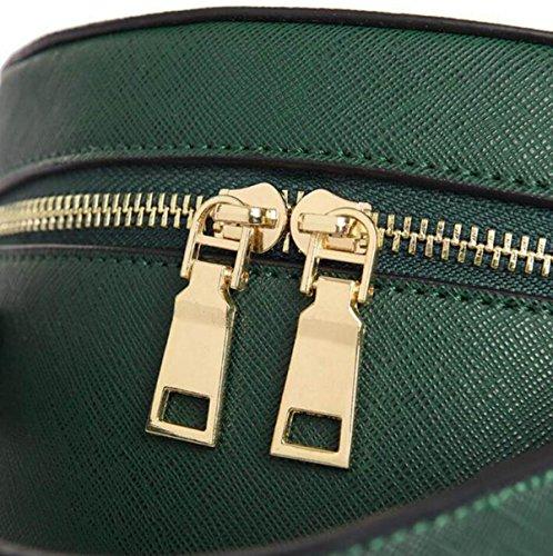 Damen Handtasche PU Zylinder Schulter Diagonal Taschen Bekleidung Dekoration Tasche Purple