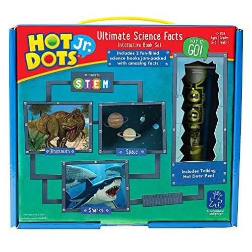 Pädagogische Erkenntnisse Hot Dots jr. Ultimative Wissenschaft Fakten interaktive Buch mit Stift