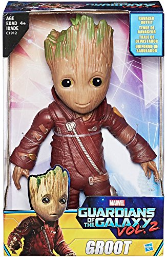 "Guardians of the Galaxy Vol.2 Baby Groot 10"" Figure Ravager Outfit Exclusive"
