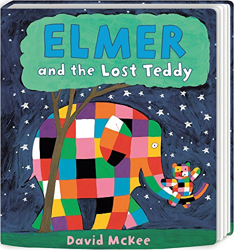 Elmer and the Lost Teddy: Board Book