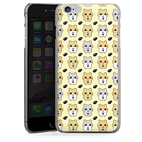 Apple iPhone X Silikon Hülle Case Schutzhülle Hamster Kawaii Süß Hard Case anthrazit-klar