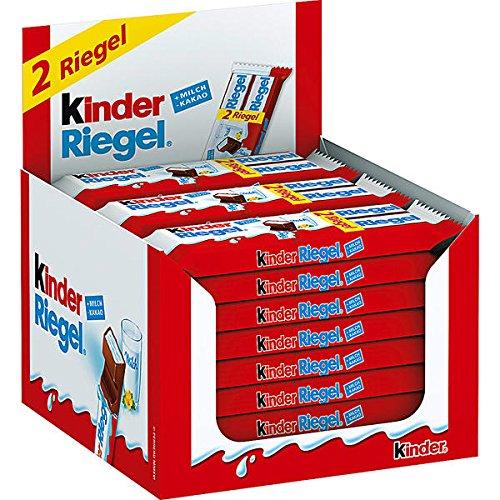 Kinder Riegel Doppelriegel, 24er Pack (24 x 2 Riegel Packung)