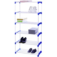 Flipzon Multipurpose Rack Organizer for Shoe/Clothes/Books - (Need to Be Assemble - DIY) - 6 Shelve
