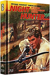 Night Hunter - Avenging Force - uncut (Blu-Ray+DVD) auf 500 limitiertes Mediabook Cover B [Limited Collector's Edition]