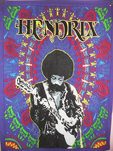 Jimmy Hendrix Póster, Hippie pared pared Alfombra, tipo Creado wohnheim boho indio pared, Bohemian pared colgantes