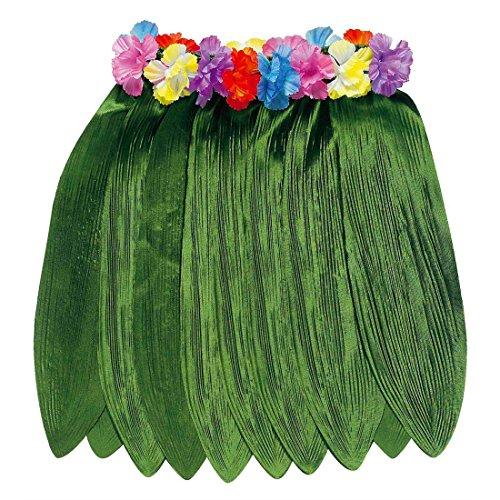 Südsee Rock Bananenblätter Hawaiirock Karibik Strandrock Strandparty Hula Hawaiiparty Hularock Jane Dschungel Tanzrock Sommer Mottoparty Verkleidung Karneval Kostüm (Dschungel Jane Kostüme)