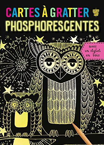 Cartes à gratter - phosphorescentes par Deux Coqs d'or