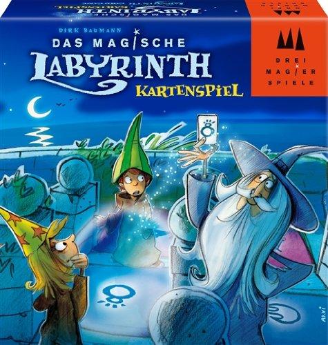 Drei Magier Spiele 40852 Das Magische Labyrinth: Das Kartenspiel Brettspiel, Das Magische Labyrinth