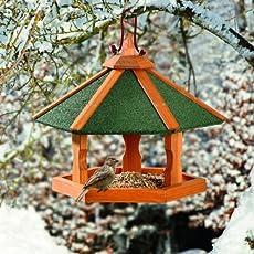 Karlie Bird'S World Wild Vogelhaus Rena 44 x 44 x 36 cm, Naturholz