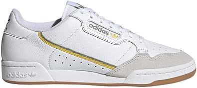 adidas Originals Continental 80, Footwear White-Footwear White-Crystal White, 4,5