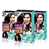 Schwarzkopf PURE COLOR Permanent Gel Coloration No.1.0 VINLY BLACK (3er Pack)