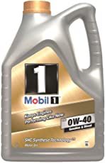 Mobil 1 153678 Motorenöl FS 0W40 Synthetic, Gold, 5 L
