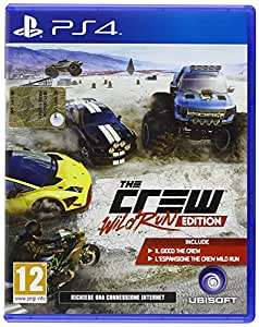Ubisoft The Crew Wild Run Edition, PS4 - video games (PS4, PlayStation 4, Physical media, Racing, Ubisoft, ITA, Basic)
