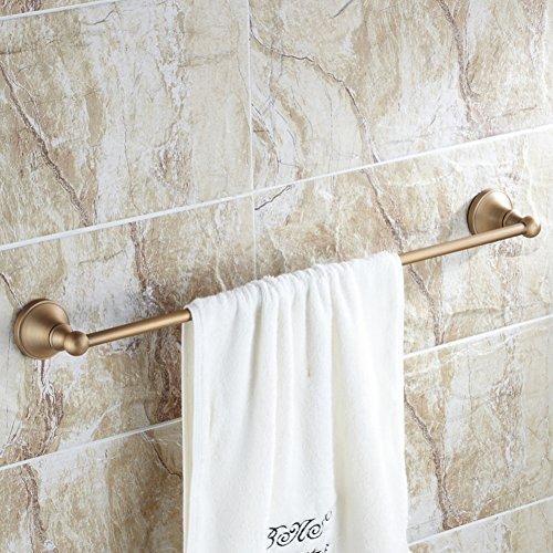 Haoly barra di rame antico asciugamano impiccagione di asciugamano europeo,portasciugamani singolo,accessori bagno-d 70cm(28inch)