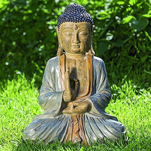 Buddha Figur 50cm aus Kunstharz