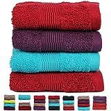 Casa Basics 475g/m² premium de secado rápido toallas de mano Combo, 4unidades