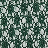 Fabulous Fabrics Spitze klassisch dunkelgrün - Meterware