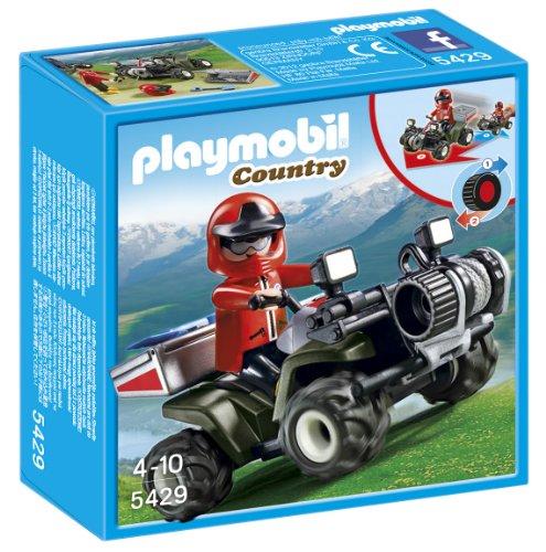 Playmobil Vida Montaña - Quad Rescate montaña 5429