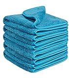 Fleischmann Speed/Mikrofasertuch für Professionelle Autopflege/Auto Putztuch Trockentuch Reinigungstuch Handtuch Poliertücher / 40x40cm