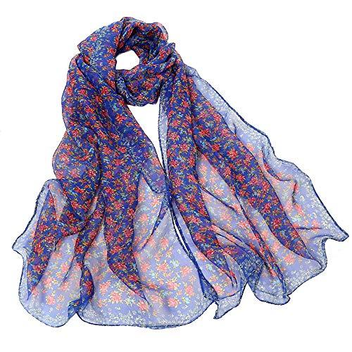 In vendita poncho e mantelle da donna,stole donna elegante cerimonia,moda donne piccolo floreale stampa lungo morbido avvolgere sciarpa sciarpe scialle sciarpe