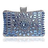 diamond zum bankett, diamanten essen, lady kleid, europäischen und amerikanischen essen, eleganten abendkleid der kleiderordnung,blau