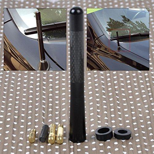 HANO CITALL 4,7 & quot; AluminumCar AM/FMAntenna per VW Golf Audi A3 A4 BMW X3 Mazda 3Accord Forte di Kia