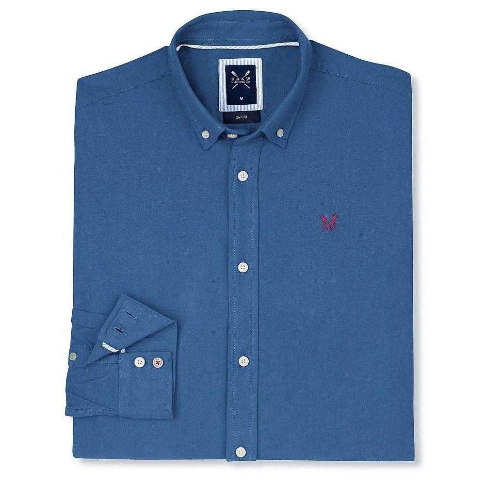 Pict j ferrar modern fit 1 - Crew Clothing Men S Dunham Oxford Long Sleeve Slim Fit Casual Shirt Amazon Co Uk Clothing
