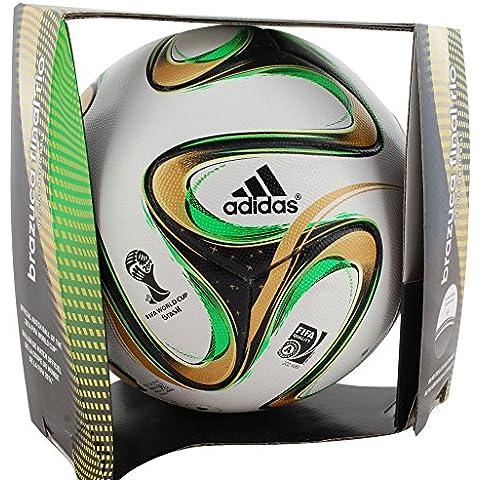 adidas Brazuca Balón de Final de Fútbol Alemania Argentina, Alemania Campeones del Mundo 2014Copa Mundial de Fútbol, Final de Río, Balón oficial del partido del Mundial de Brasil, tamaño 5