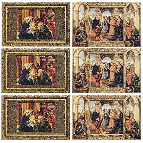 6 Edle Grußkarten, Jesuskind, reduziert! - Susy Card