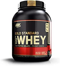 Optimum Nutrition Gold Standard 100% Whey Proteine del Siero di Latte in Polvere, Gusto Cioccolato al Latte - 2.27 kg