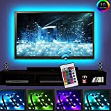 LEDNut Ruban à LED pour HDTV Rétroéclairage TV USB, Home Cinéma Kit d'éclairage d'accentuation avec télécommande, 2 RGB Multi Color Led Light Strip