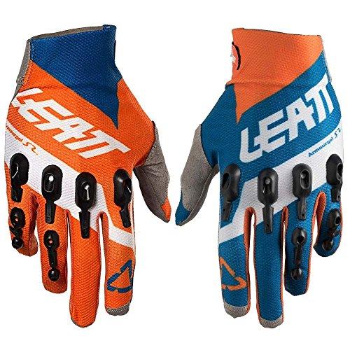Leatt GPX 4.5 Lite Motocross Gants Orange/Denim
