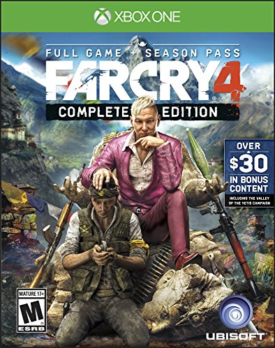Far Cry 4 Complete Edition(Xbox One) 61AzbyFUV0L