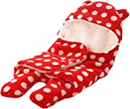 Cutieco Luxury Series Super Soft Baby Wrapper, Red