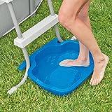 Intex Schwimmbadzubehör Fussbad, blau, 56 x 46 x 9 cm -
