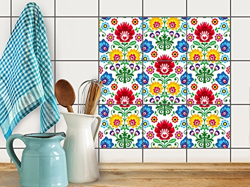 fliesenfolie-selbstklebend-20x20-cm-3x3-design-ornament-flower-erholung-klebefolie-kuche-bad