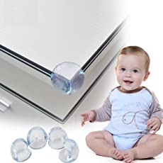 Baby Safety Corner Guards Infant Bumpers Edge Corner Guards Table Safety Guard Protector Clear Soft Corner Cushions (6 Pieces)