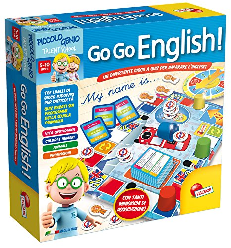 Lisciani Giochi 48892 Piccolo Genio Talent School Go-Go English!