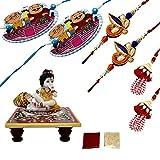 Frabjous Rakhi Designer Combo Set For Br...